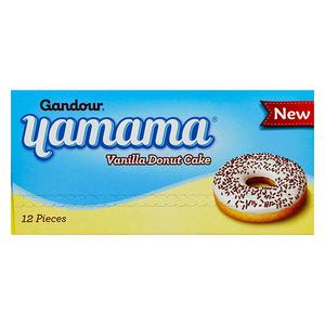 Yamama Doughnut Vanilla 12x40g