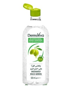 Dermoviva Hand Sanitizer Olive 500ml