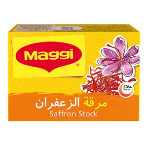 Maggi Saffron Stock Cube 20g