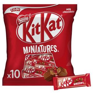 KitKat Crispy Wafer Finger Covered With Milk Chocolate 110g
