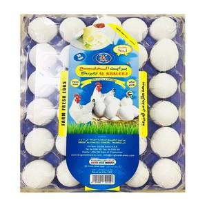 Al Khaleej Fresh White Large Eggs 30s