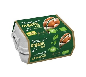 Al Khaleej Organic Eggs 6s