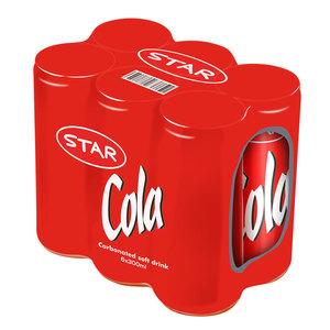 Star Cola Drink 6x300ml