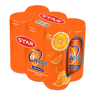 Star Orange Drink With Sleeve 6x300ml