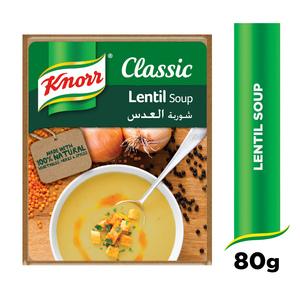 Knorr Classics Lentil Soup 12x80g
