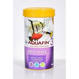Aquafin Color Enhancing Basic Flake Food  for Tropical Fish & Goldfish 250ml
