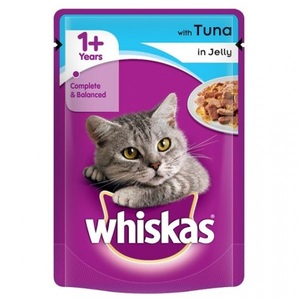 Whiskas Purrfectly Fish With Tuna & Salmon Cat Food 85g