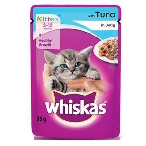Whiskas Tuna Dry Cat Food Adult 1+ Years 85g