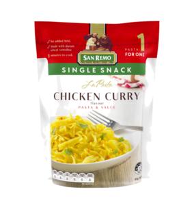 San Remo Pasta Chicken Curry 80g