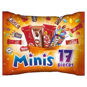 Minis 17 Chocolate Mix Pieces 232g