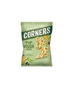 Corners Chips Veggie Crisps Sea Salt With Peas 28g