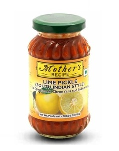 Mother's Recipe Pickles Lime Mild 300g