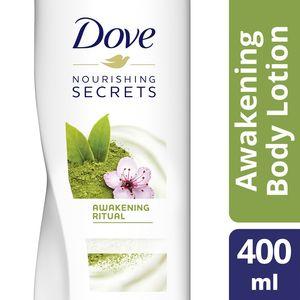 Dove Body Lotion Awakening Ritual With Matcha Green Tea & Sakura Blossom 400ml
