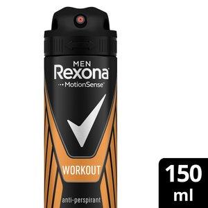 Rexona Antiperspirant Aerosol For Men Workout 150ml