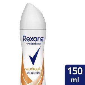 Rexona Antiperspirant Aerosol For Women Workout 150ml