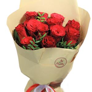 Dozen Red Roses 12 stems