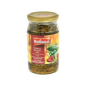 National Chilli Pickle 320g