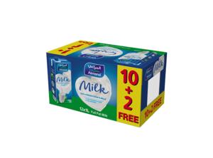 Almarai Long Life UHT Full Fat Milk 12x1L