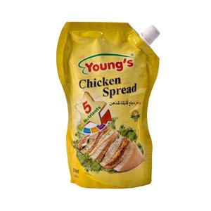 Young's Chk Spread Pouch 500g