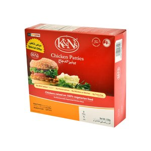 K&Ns Chicken Patties 558g