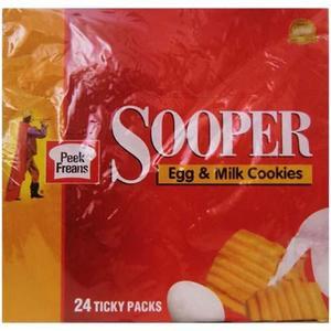 Peek Freans Sooper Cookies Ticky Pack Box 1box