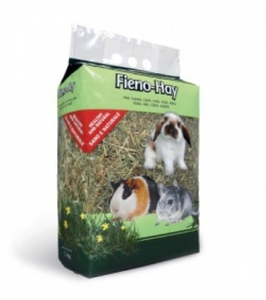 Padovan Fieno - Hay-Feed For Dwarf Rabbits, Guinea Pigs And Chinchillas 1kg