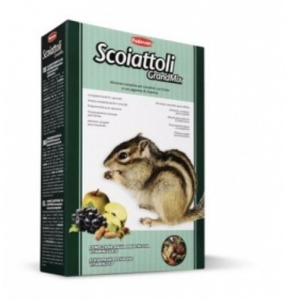 Padovan Grandmix Scoiattoli-Complete Feed For Squirrels-Japanese Squirrels, American Squirrels 750g