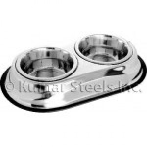 Kumar Steel Rack With 2*Bowl (77440Sd) Grey 37cm 1.8l
