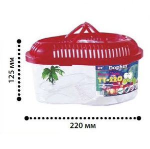 Kw Turtle Tank With Cover Tt220C 1pc