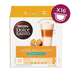 Nescafe Dolce Gusto Latte Macchiato Unsweetened 16 capsules