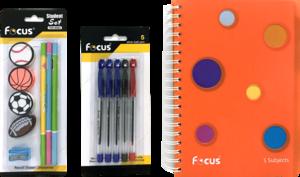 Focus Notebook Set 1set