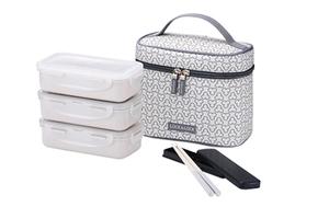 Lock & Lock Lunch Box Ivry Bag 1pc