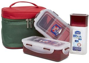 Lock & Lock Lunch Box Red 1pc