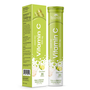 Sunshine Nutrition Vitamic C Lemon 100g