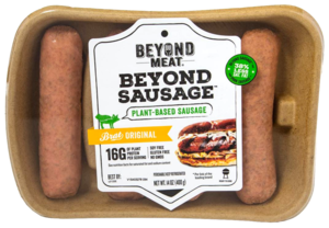 Beyond Meat Vegan Sausage Brat Original 14oz