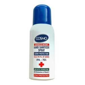 Cosmo Hand Sanitizer Spray 3x100ml