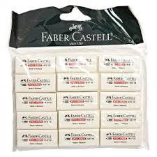 Faber Castell Eraser Pvc Free With Sleeve 1pc