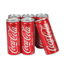 Coca-Cola Drink Can 8x245ml