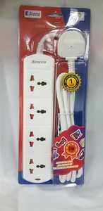 Sirocco Socket 4Way 2M Uk9045 1pc