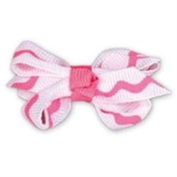 Doogy Knots With Clasp Clip Pink 1pc