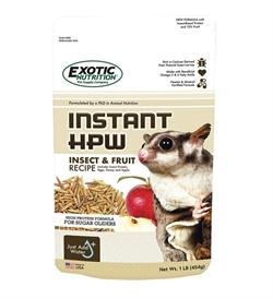 Exotic Nutrition Instant Hpw Insect & Fruit Recipe 1lb