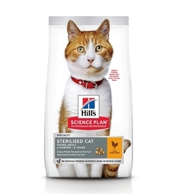 Hill's Science Plan Feline Young Adult Sterilised With Chicken 1.5kg