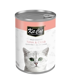 Kit Cat Wild Caught Tuna With Crab 400g