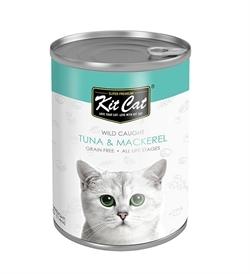 Kit Cat Wild Caught Tuna With Mackerel 400g