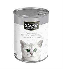 Kit Cat Wild Caught Tuna With Whitebait 400g