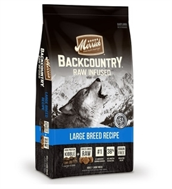 Merrick Backcountry Large Breed Recipe Kibble + Raw Infused 10Kg 10kg