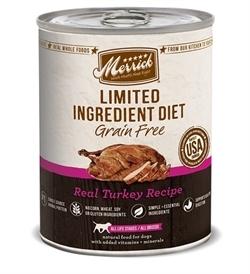 Merrick Grain Free Limited Ingredient Diet Turkey 360g