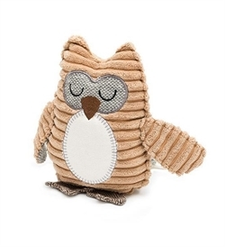 """Mutts & Hounds Ollie Owl Plush Dog Toy 7"""""""