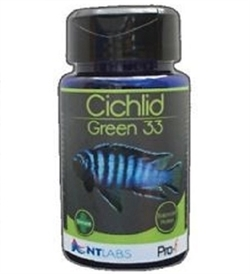 NT Labs Pro-F Cichlid Green 33 Stick 1kg