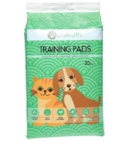 Pawsitiv Training Pads Unscented 30pcs